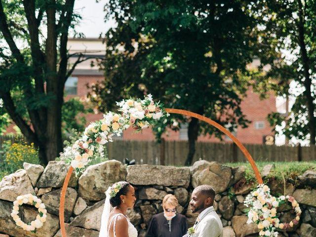 David  and Ivy 's Wedding in Waltham, Massachusetts 4