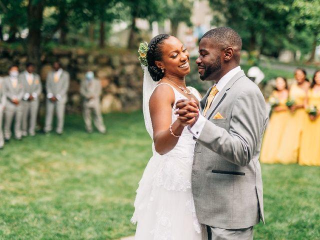 David  and Ivy 's Wedding in Waltham, Massachusetts 7