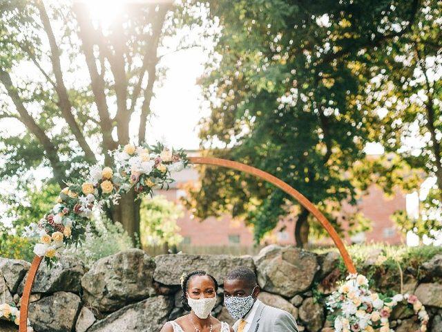 David  and Ivy 's Wedding in Waltham, Massachusetts 8