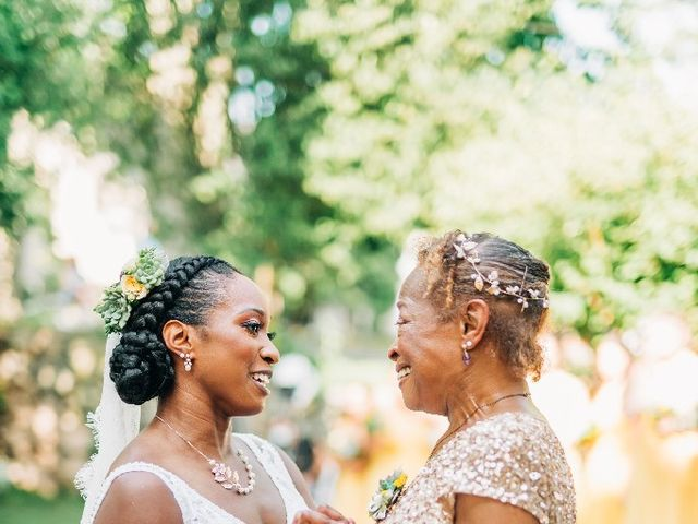 David  and Ivy 's Wedding in Waltham, Massachusetts 9