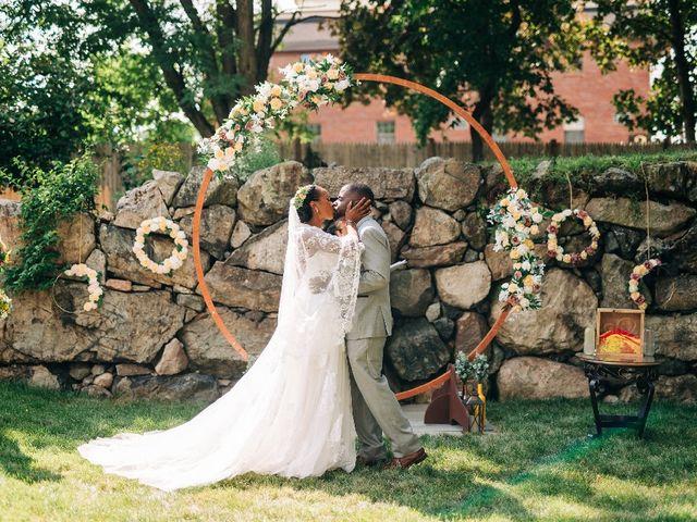 David  and Ivy 's Wedding in Waltham, Massachusetts 11