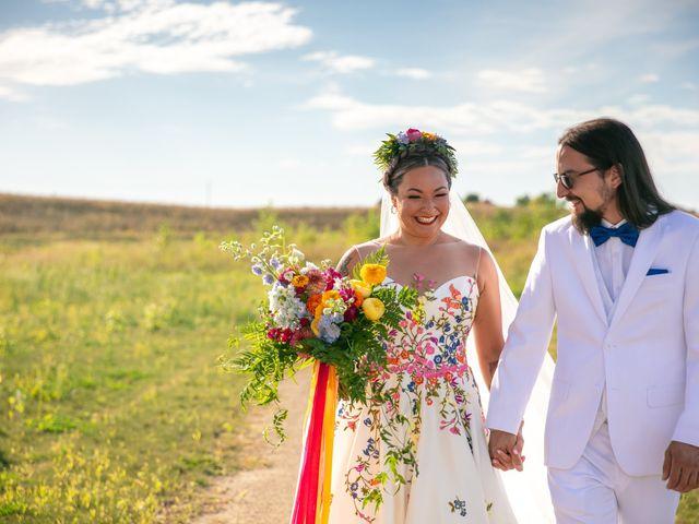 The wedding of Anaca and Cody