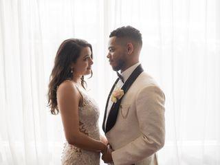 The wedding of Travis B. Valentine and Amanda L. Arita