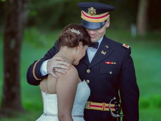 The wedding of Samantha and Ben