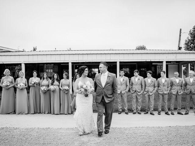 David and Aimee's Wedding in Oswego, Illinois 34