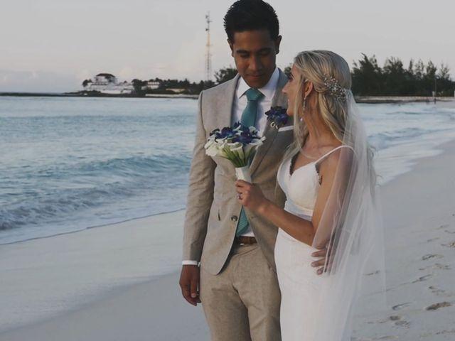 Amir and Lindsay's Wedding in Nassau, Bahamas 8