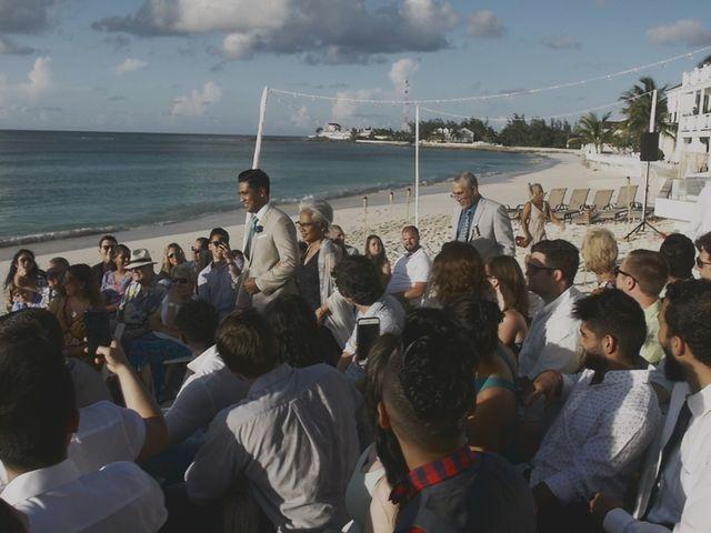 Amir and Lindsay's Wedding in Nassau, Bahamas 17