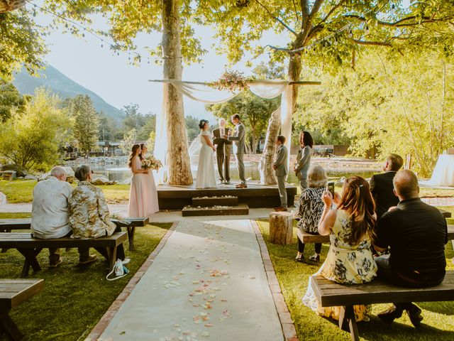 Deborah and Ronald's Wedding in Lytle Creek, California 7