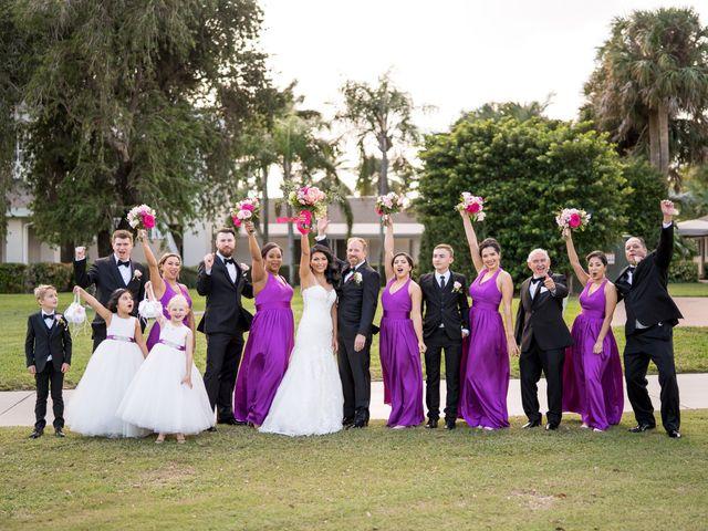 Scott and Dyna's Wedding in Boynton Beach, Florida 9