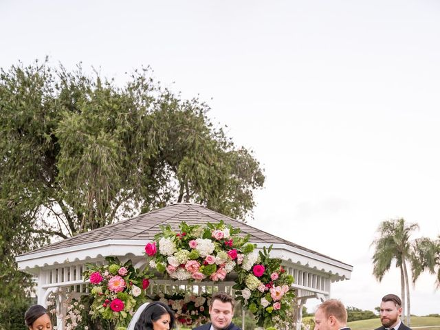 Scott and Dyna's Wedding in Boynton Beach, Florida 33