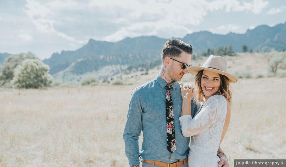 Lauren and Craig's Wedding in Boulder, Colorado