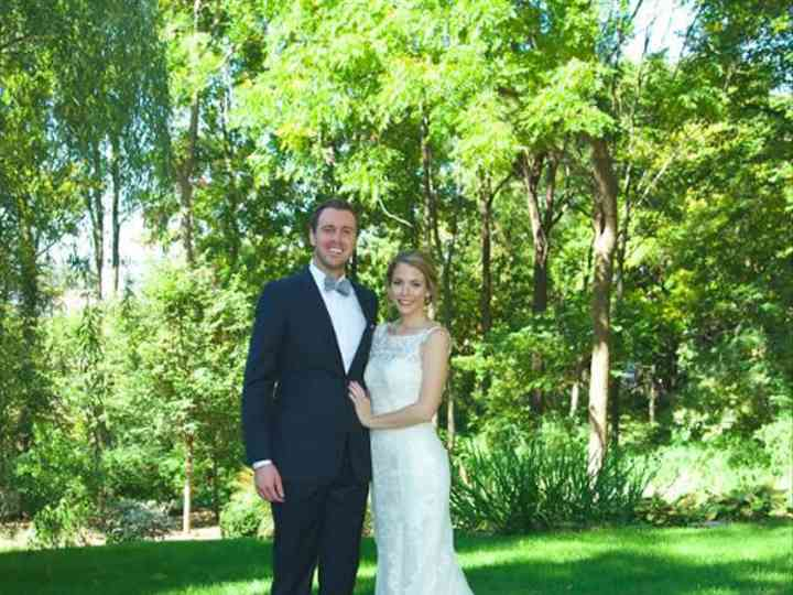The wedding of Chris and Claire