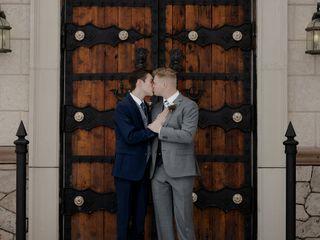 The wedding of Bradley and Hamish