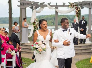 T.J. and Mia's Wedding in Woodbridge, District of Columbia 30