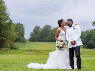 The wedding of Mia and T.J.
