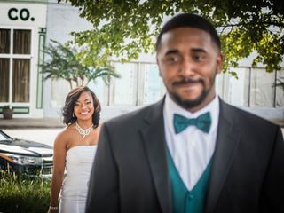 The wedding of DeNondrea and Kordell 2