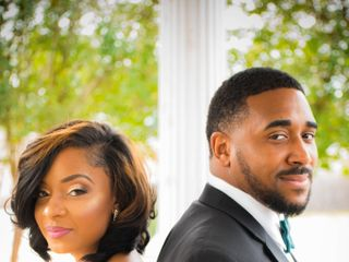The wedding of DeNondrea and Kordell 3