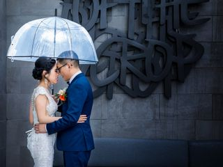 The wedding of Tran and Vincent