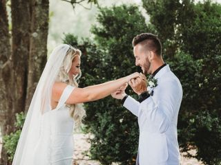 The wedding of Taylor and Chris