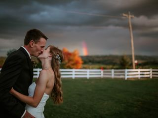 The wedding of Delaney and Aaron