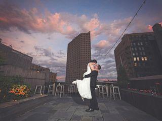 The wedding of Nicole and Derrick