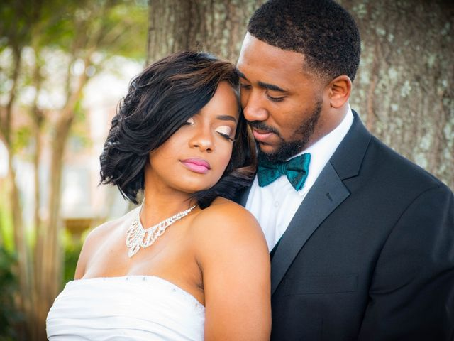 The wedding of DeNondrea and Kordell