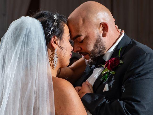 The wedding of Kathy and Jamil