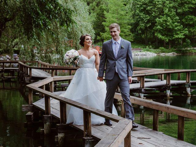 The wedding of Erica and Joey