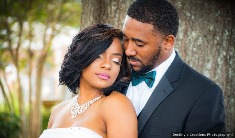 Kordell and DeNondrea's Wedding in Grenada, Mississippi