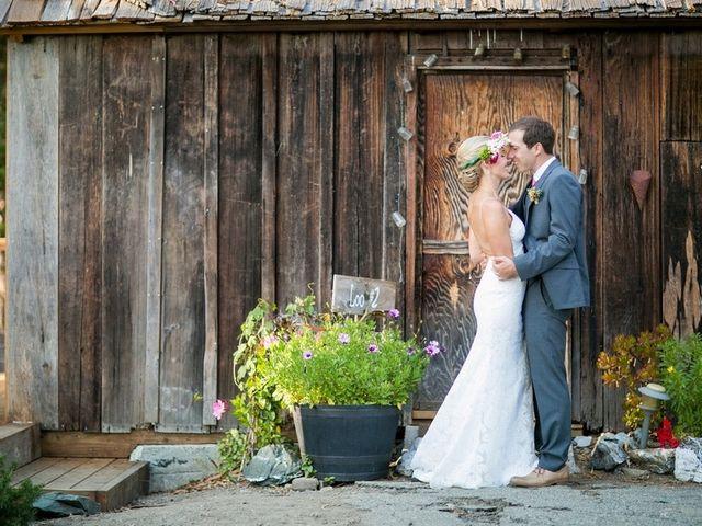 Ashley and Chris's Wedding in Big Sur, California 16