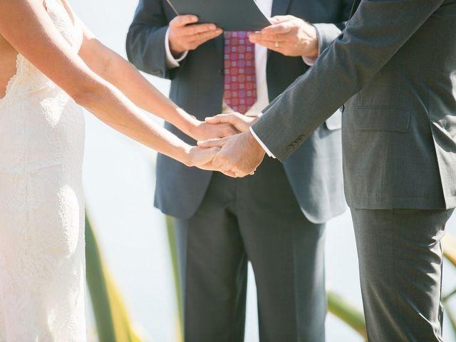 Ashley and Chris's Wedding in Big Sur, California 13