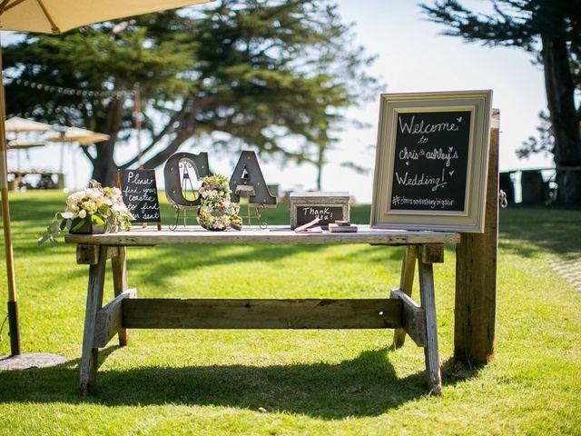 Ashley and Chris's Wedding in Big Sur, California 7