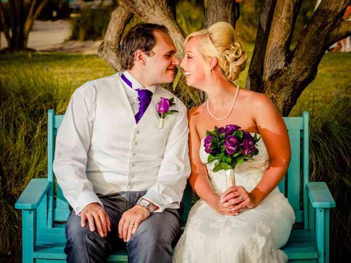 The wedding of Charlotte and Matti
