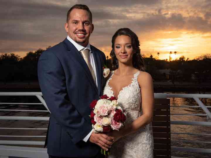 The wedding of Jessica and Chase