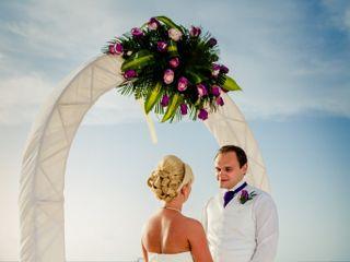 Matti and Charlotte's Wedding in Oranjestad, Aruba 5