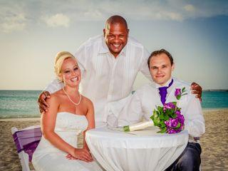 Matti and Charlotte's Wedding in Oranjestad, Aruba 9