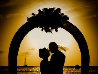 Matti and Charlotte's Wedding in Oranjestad, Aruba 10