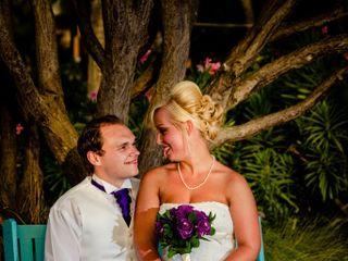 Matti and Charlotte's Wedding in Oranjestad, Aruba 11