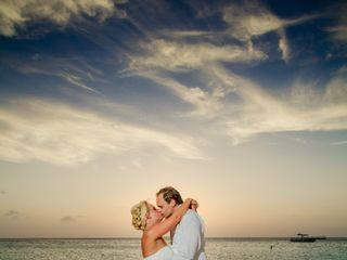 Matti and Charlotte's Wedding in Oranjestad, Aruba 13