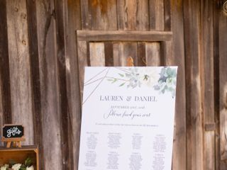 The wedding of Lauren and Dan 3