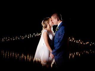The wedding of Kari and Calvin
