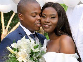 The wedding of Asha-Layla and Joel