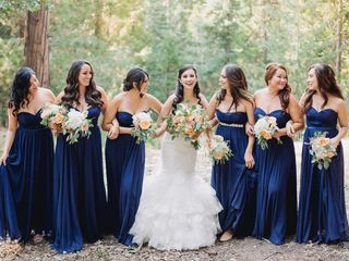 Liliana and William's Wedding in Big Bear City, California 3