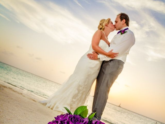 Matti and Charlotte's Wedding in Oranjestad, Aruba 2