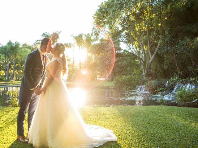 The wedding of Diana and Adolfo