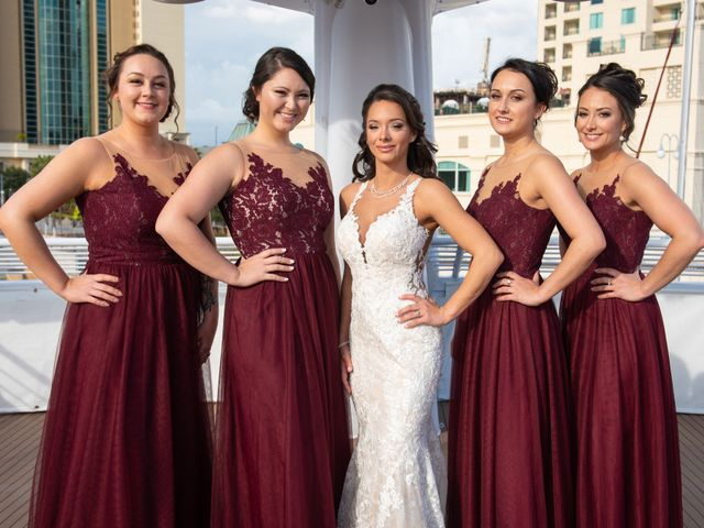 Chase and Jessica's Wedding in Tampa, Florida 12