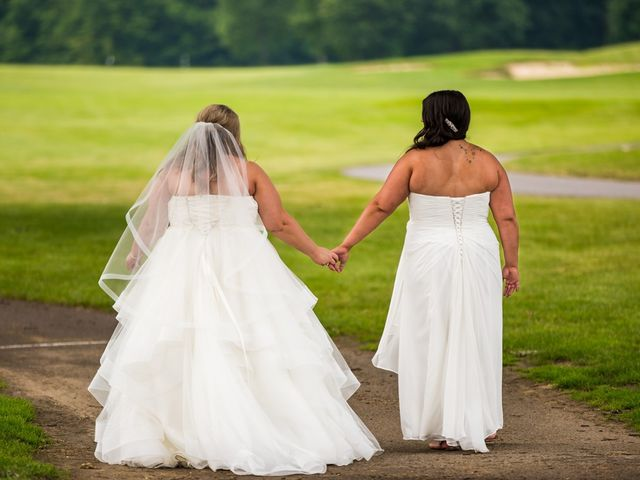 Annie and Deedra's Wedding in Sunbury, Ohio 53