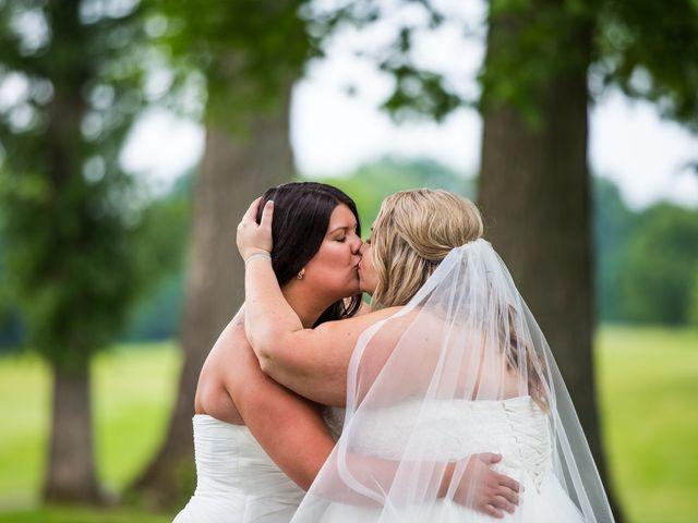 Annie and Deedra's Wedding in Sunbury, Ohio 57