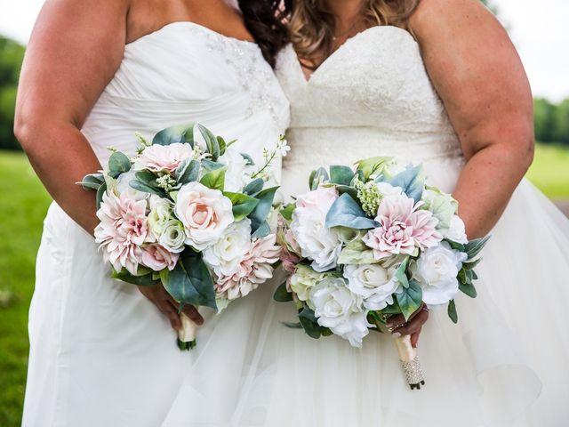 Annie and Deedra's Wedding in Sunbury, Ohio 59