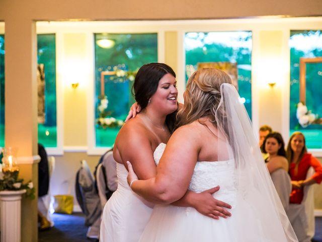 Annie and Deedra's Wedding in Sunbury, Ohio 78